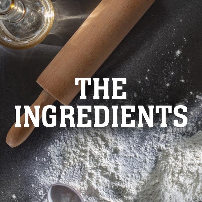 Gli ingredienti della Piadina Loriana