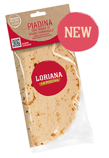 Loriana the piadina - new
