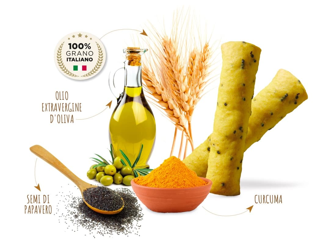 Piadina Loriana Snack - Minigrissini
