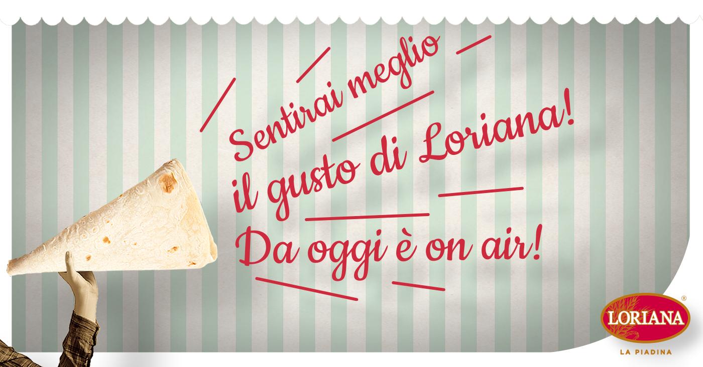 La Piadina Loriana è sempre buona, anche in radio!