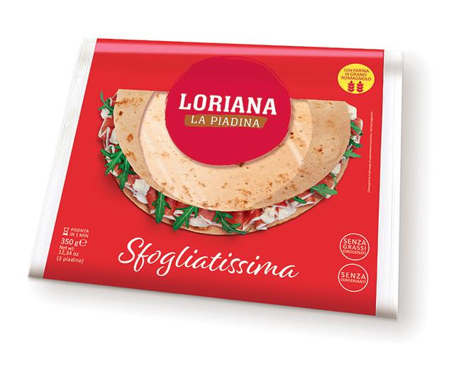Piadina Loriana - Sfogliatissima