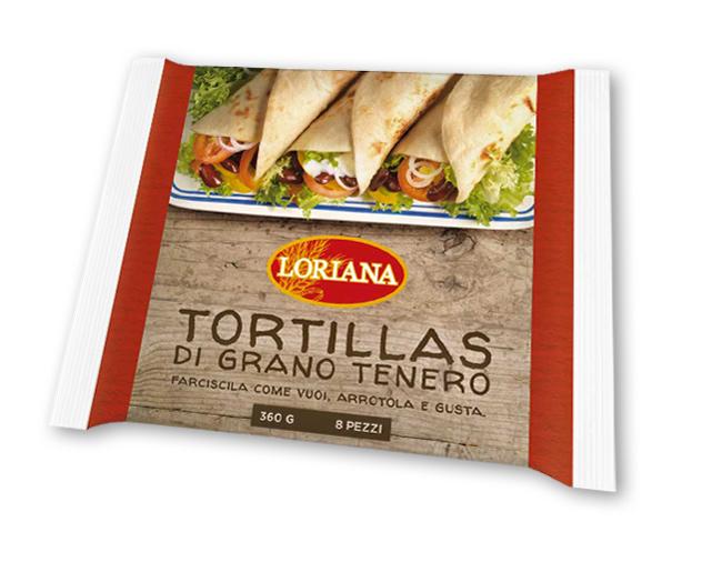 Piadina Loriana - Tortillas