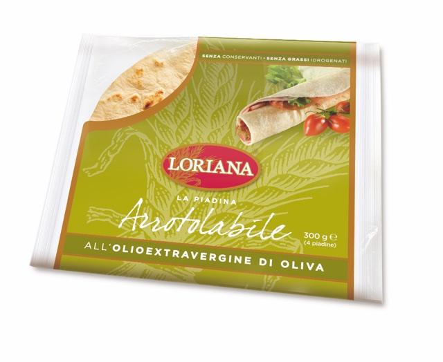 Piadina Loriana - Rollable Piadina