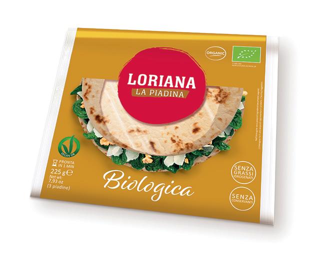 Piadina Loriana - Organic