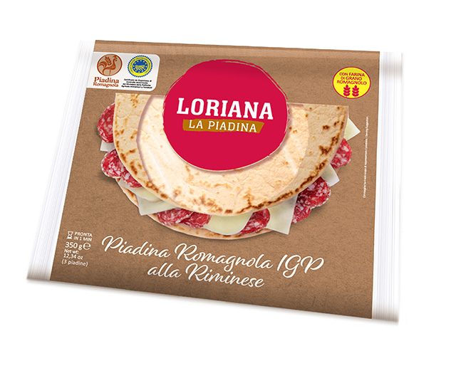 Piadina Loriana - Romagnola IGP Riminese