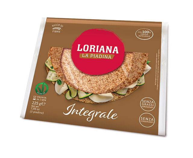 Piadina Loriana - Wholewheat
