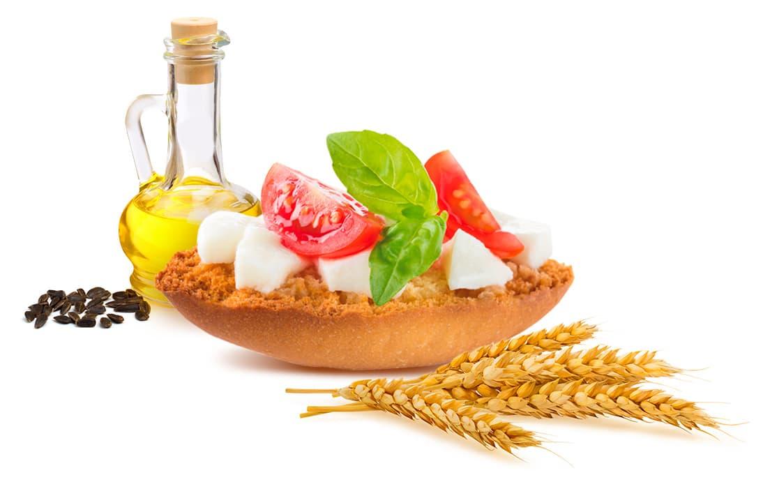 Piadina Loriana Snack - Classic Crostini